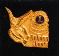 """helping hands"" in Gold"